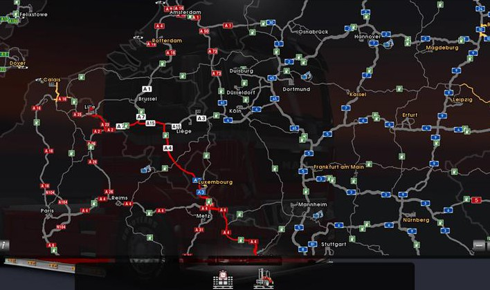 скачать игру German Truck Simulator 2 через торрент - фото 7