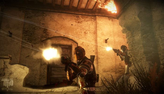 к игре Army of Two: The Devil's Cartel