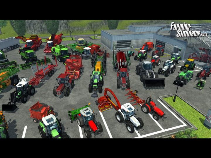 Посмотреть ролик - Супер видео Конкурс - Farming Simulator 2013 - MineCraft