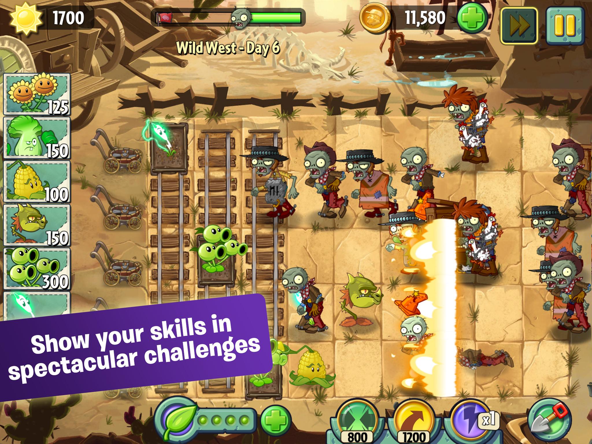 Скачать игру plants vs zombies 2 на компьютер.