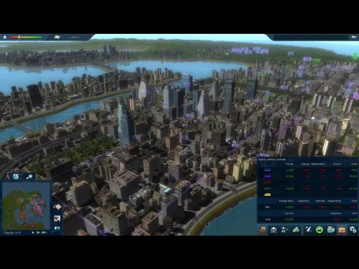 Подобные размеры карт можно было встретить только, может быть, в Cities XL.