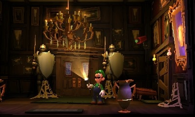 к игре Luigi's Mansion: Dark Moon