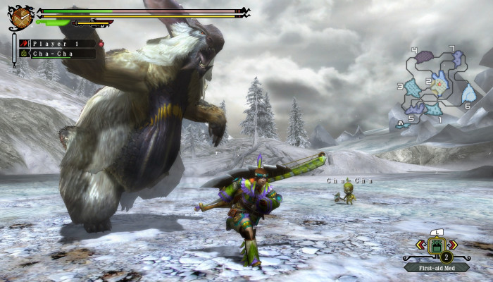 к игре Monster Hunter 3 Ultimate