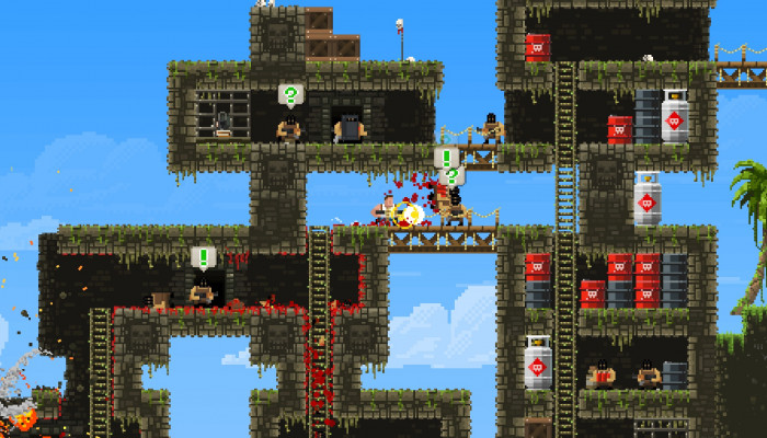 к игре Broforce