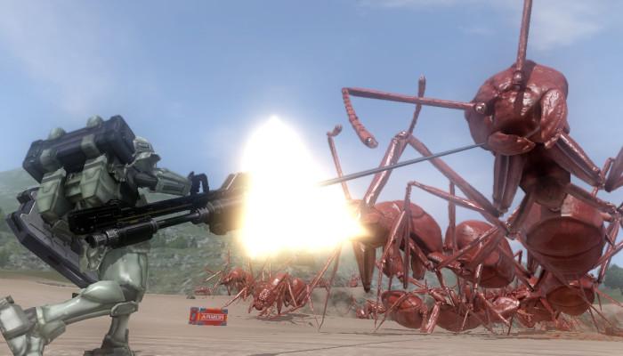 к игре Earth Defense Forces 4
