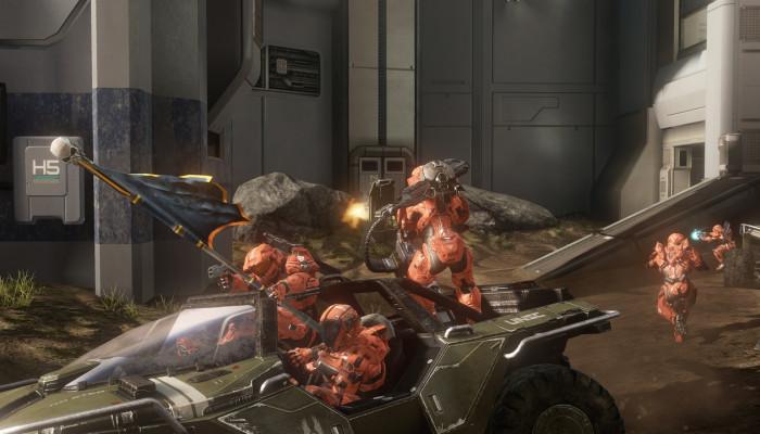 к игре Halo 4: Crimson Map Pack