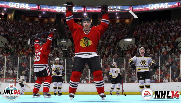 к игре NHL 14