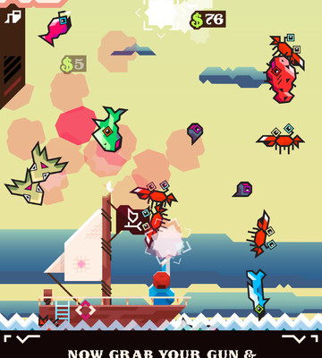 к игре Ridiculous Fishing - A Tale of Redemption