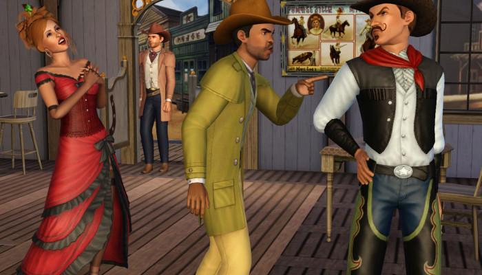к игре Sims 3: Movie Stuff, The