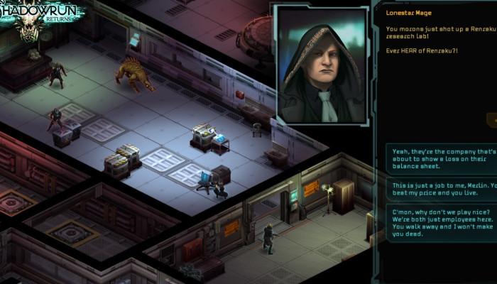 к игре Shadowrun Returns
