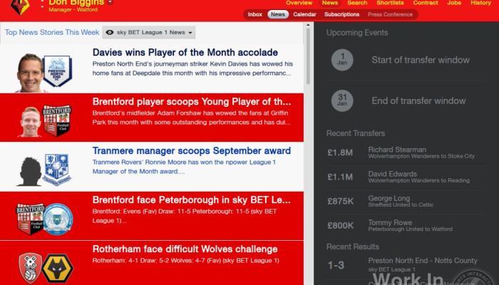 к игре Football Manager 2014