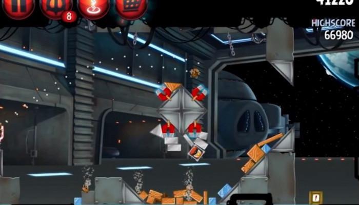 к игре Angry Birds Star Wars 2