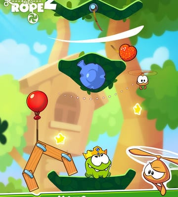 к игре Cut the Rope 2