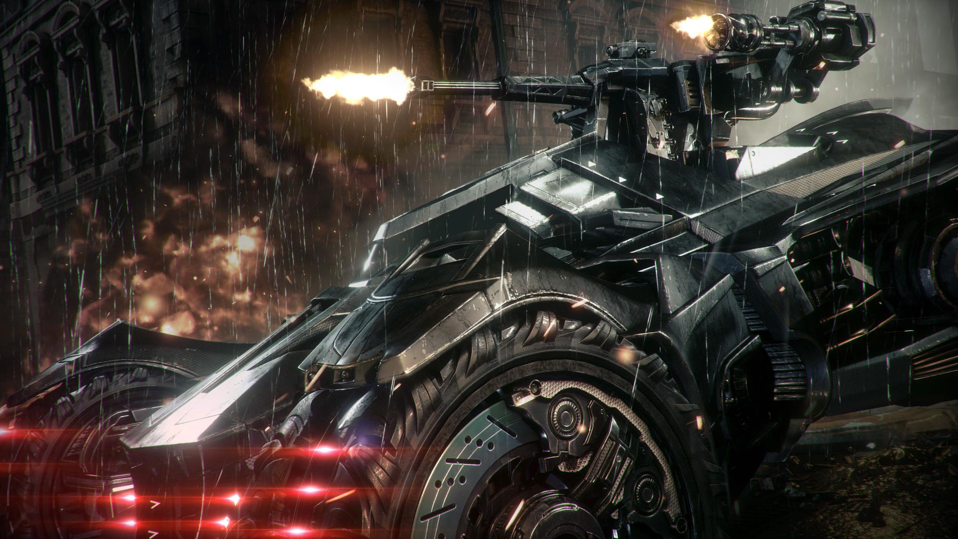 Скриншоты из игры batman arkham knight
