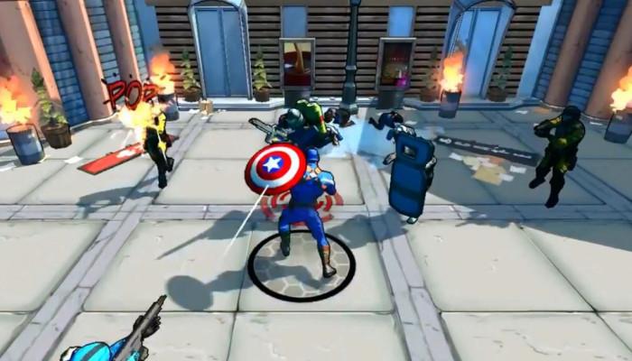 к игре Captain America: The Winter Soldier