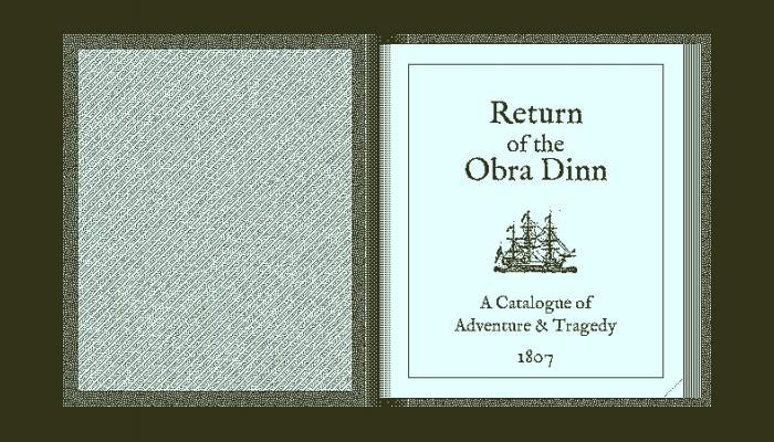 к игре Return of the Obra Dinn