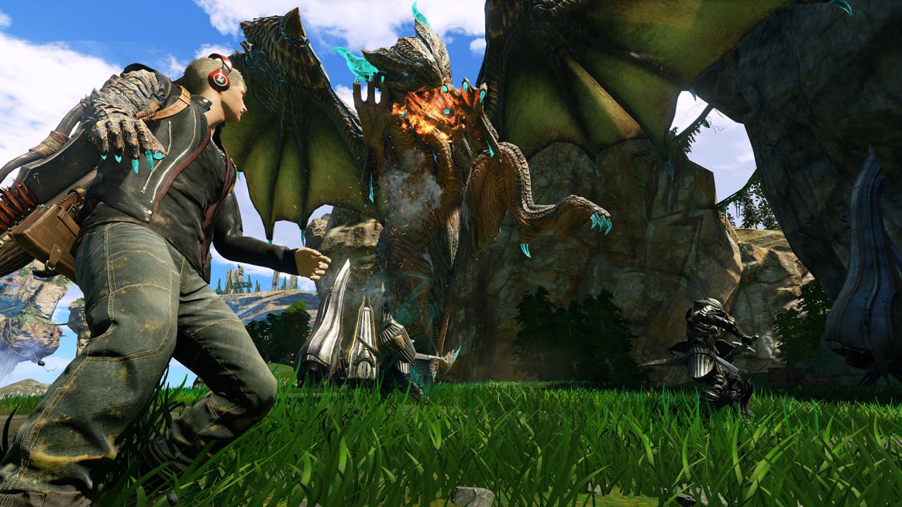 Скачать игру scalebound на пк