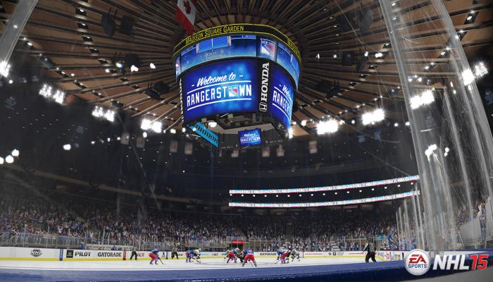 к игре NHL 15
