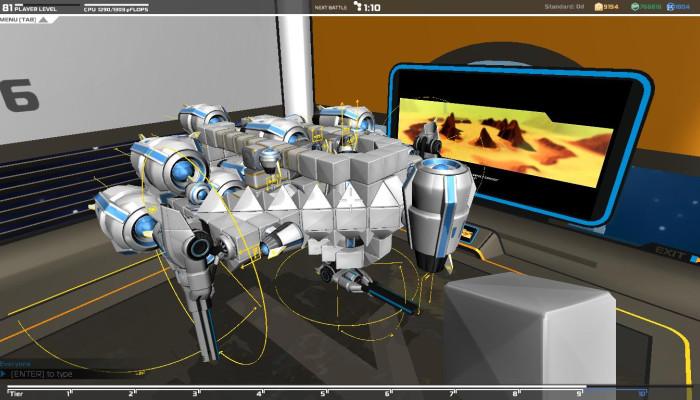 к игре Robocraft