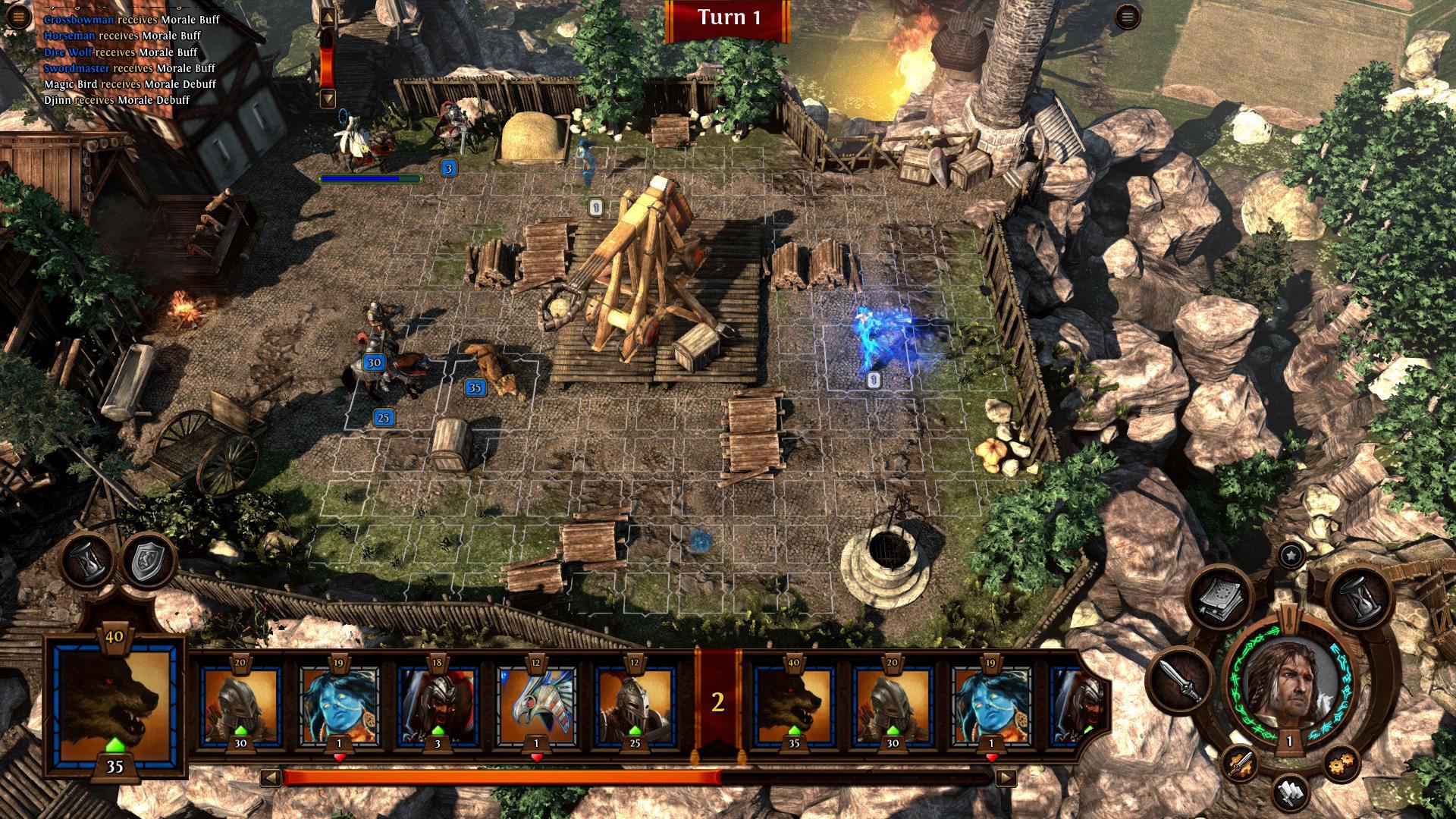 Скриншот Heroes of Might and Magic 7 (2015) REPACK ОТ R.G. МЕХАНИКИ скачать торрент бесплатно