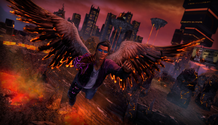 к игре Saints Row IV: Re-Elected & Gat Out of Hell
