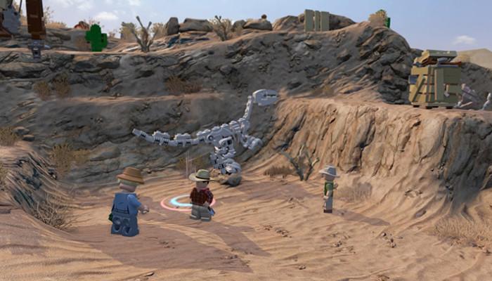 к игре LEGO Jurassic World