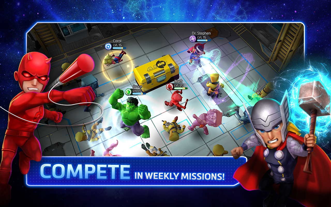 Скриншоты из игры marvel mighty heroes