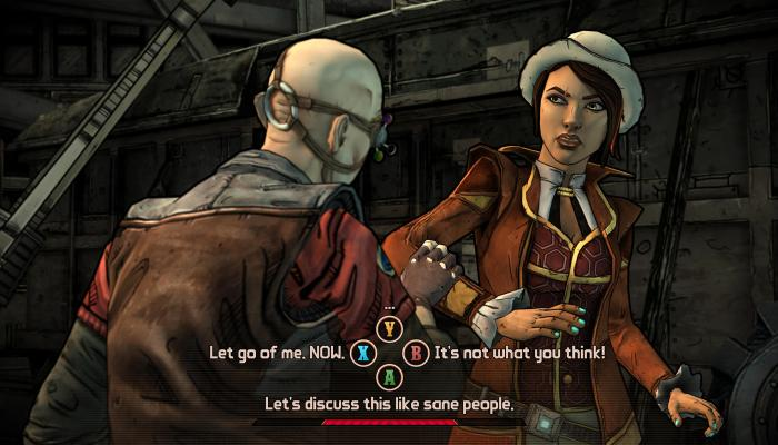к игре Tales from the Borderlands - Episode Two: Atlas Mugged