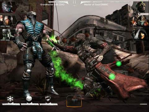 Mortal Kombat X (Mobile): Скриншоты