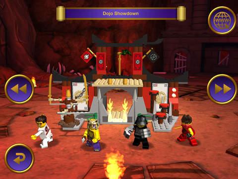 к игре LEGO Ninjago Tournament