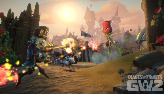 к игре Plants vs. Zombies: Garden Warfare 2