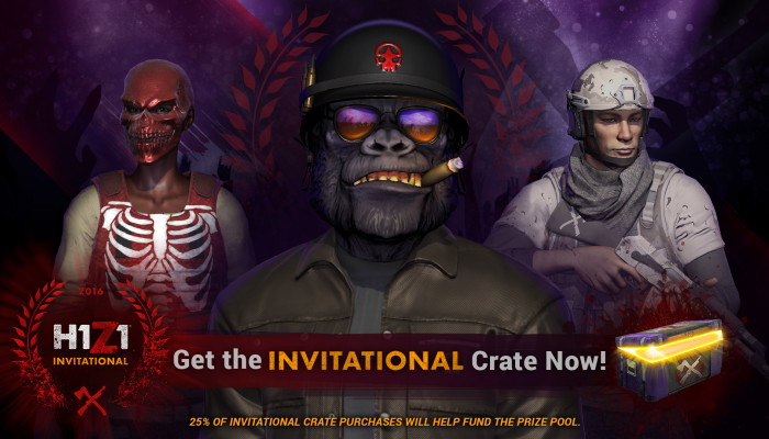 к игре H1Z1: King of the Kill