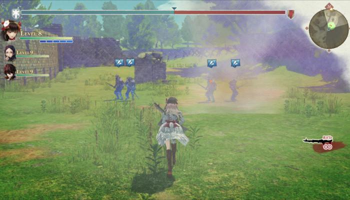 к игре Valkyria: Azure Revolution