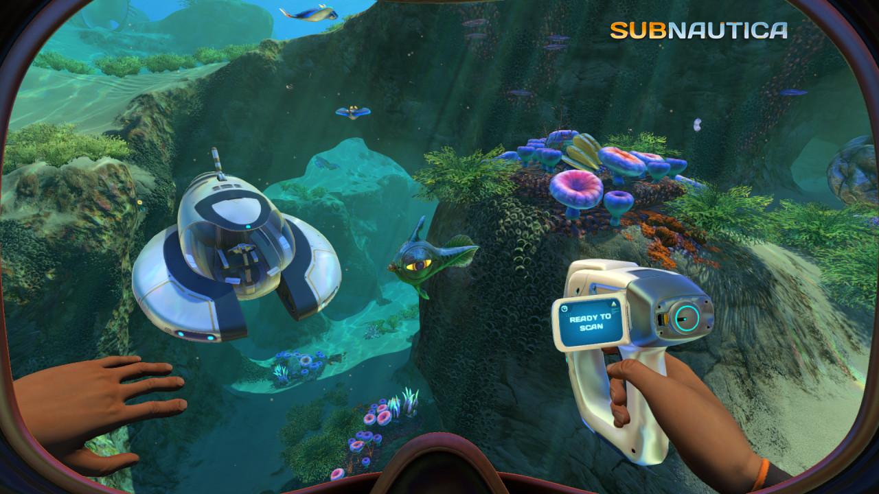 Игры subnautica concept - 24