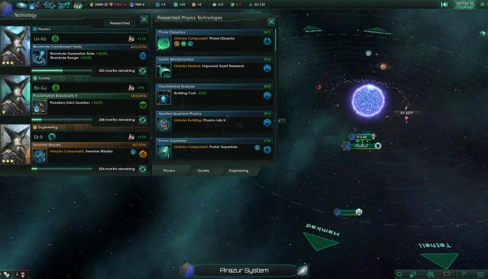 Скриншоты из игры Stellaris