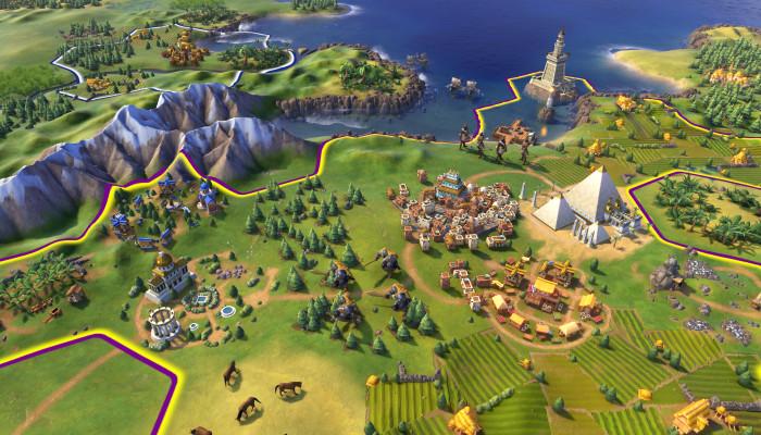к игре Sid Meier's Civilization VI