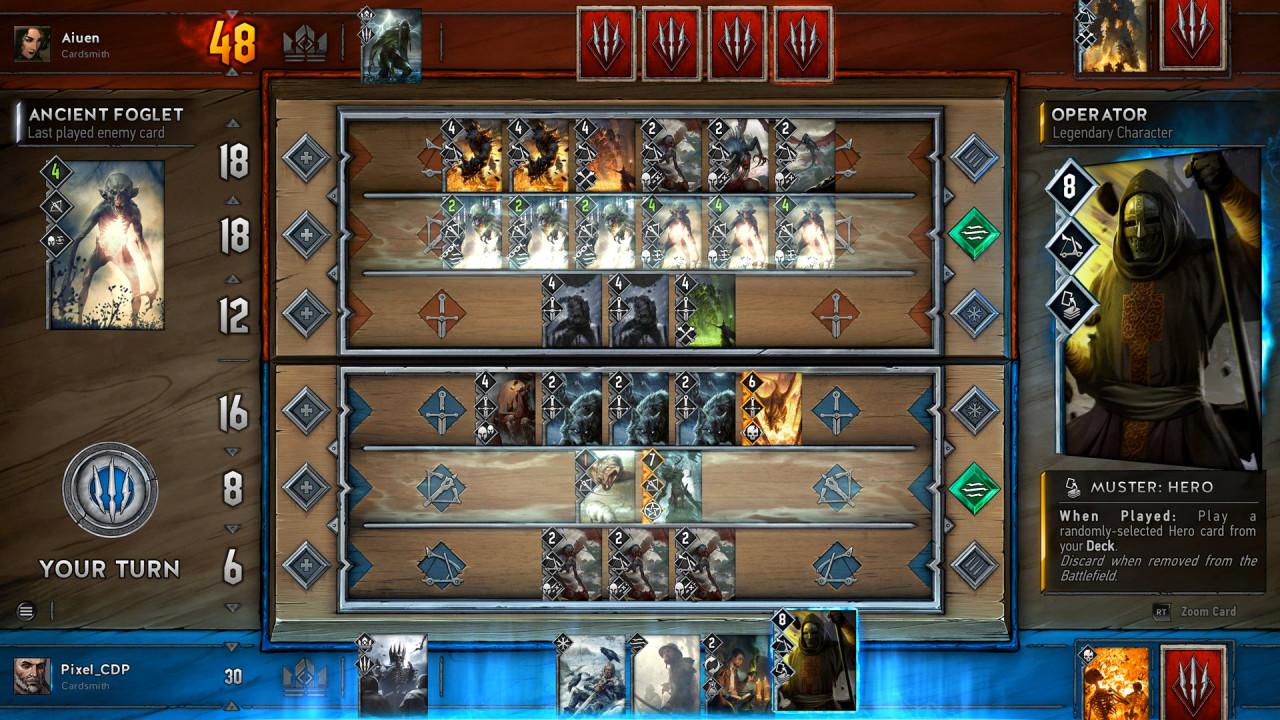Гвинт как играть в карты играть в игровые аппараты фирмы atronik онлайне бесплатно