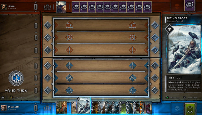 к игре Gwent: The Witcher Card Game