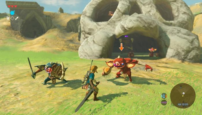 к игре Legend of Zelda, The: Breath of the Wild