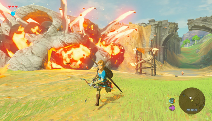 к игре Legend of Zelda, The: Breath of the Wild