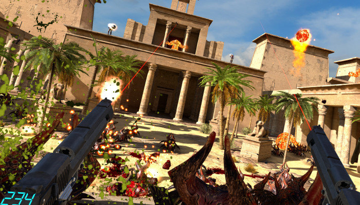 к игре Serious Sam VR: The Last Hope