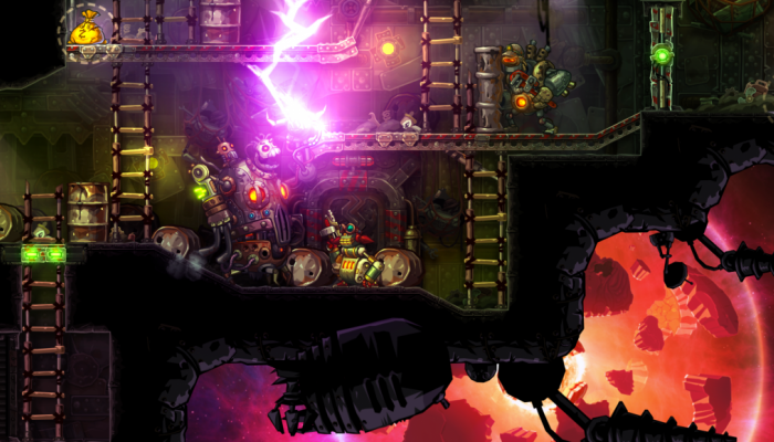 к игре SteamWorld Heist