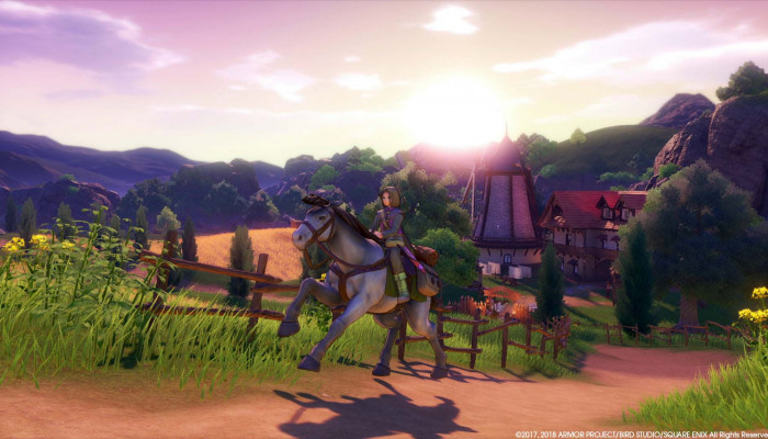 к игре Dragon Quest XI: Echoes of an Elusive Age