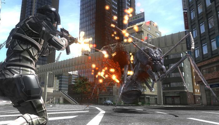 к игре Earth Defense Force 4.1: The Shadow of New Despair
