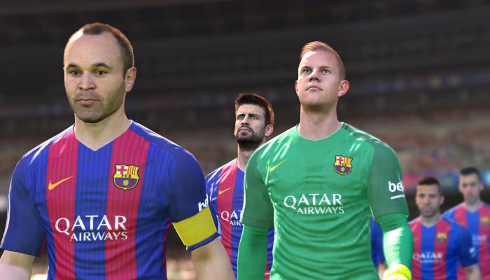 к игре Pro Evolution Soccer 2017