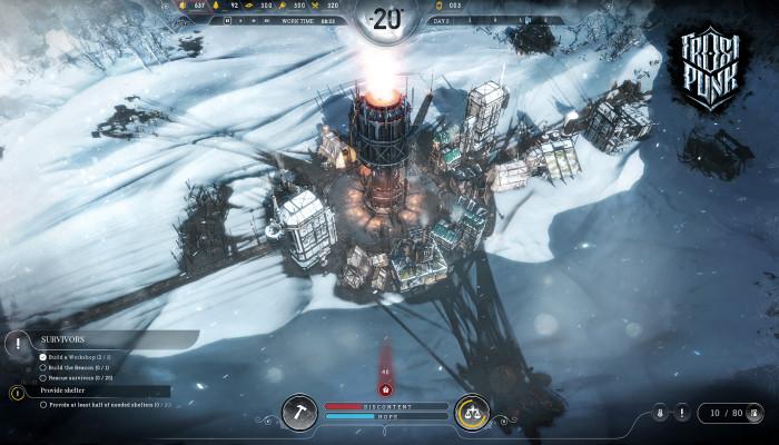 к игре Frostpunk
