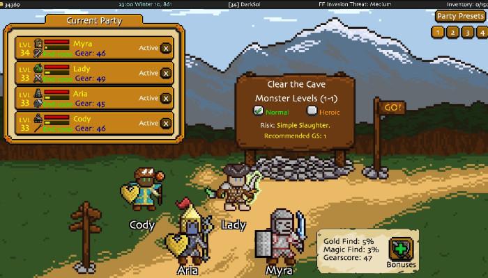 к игре Adventurer Manager