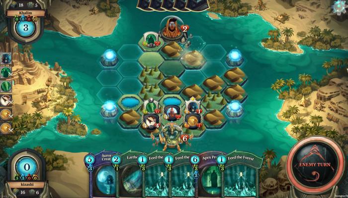 Скриншоты из игры Faeria
