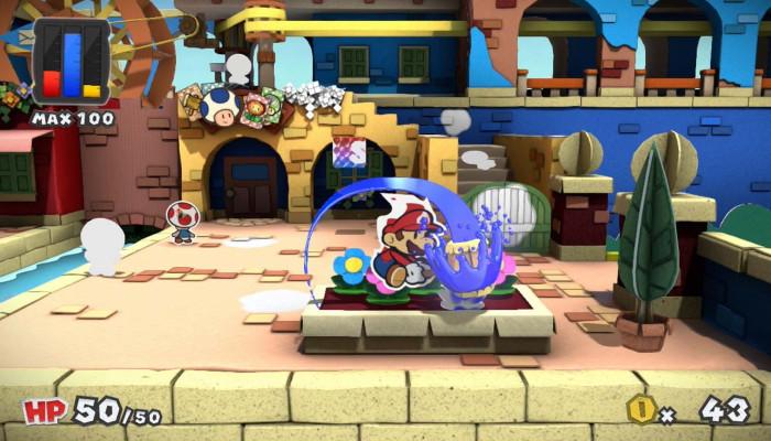 к игре Paper Mario: Color Splash
