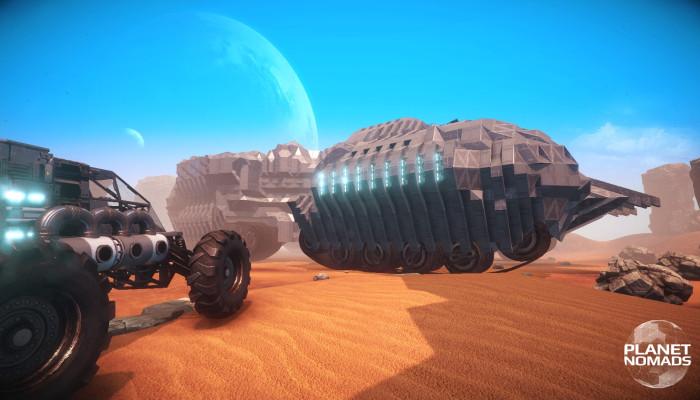 к игре Planet Nomads